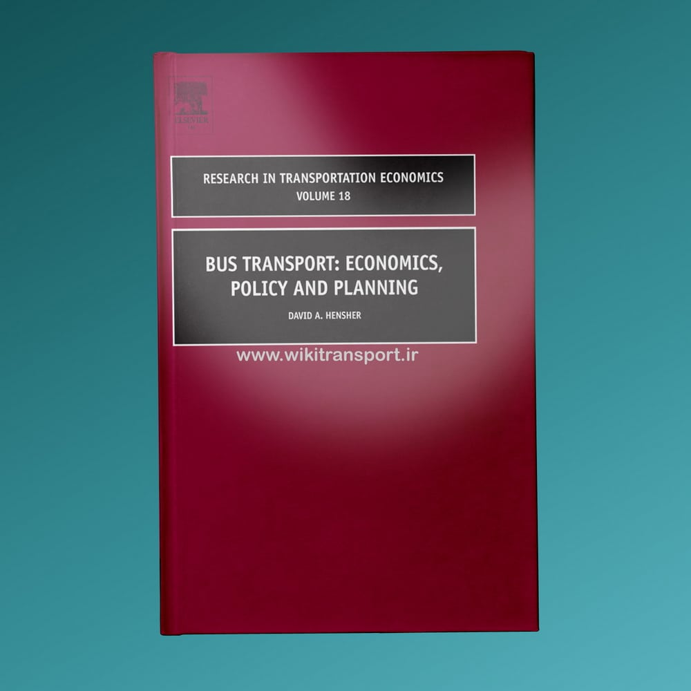 Bus Transport Economics Policy And Planning
